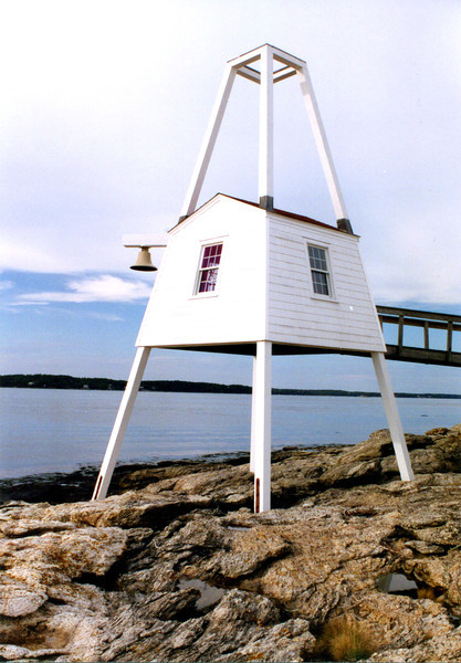 In 1979 the Fresnel lens was replaced with a 250mm plastic optic.  The characteristic of the light became fixed white with a red sector to the east.  The Light Station was placed on the National Register of Historic Places on November 20, 1987.