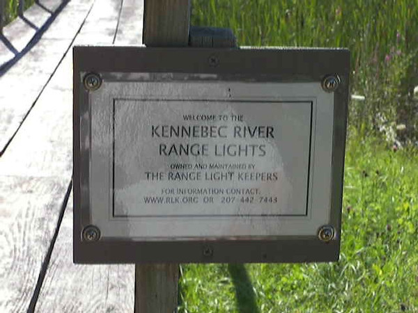 After automation ownership of the station was transferred a local group called the Range Light Keepers under the Maine Lights Program in 1998.  The group cares for the range lights as well as the fog bell tower which is currently under restoration.  You can find out more about the Range Light Keepers at www.rlk.org