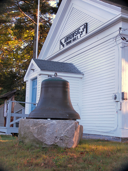 The Coast Guard has provided a similar bell to be used in the tower on the completion of the tower restoration.
