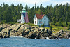 In 1975 the decision was made to automate the Little River Lighthouse.  The Fresnel lens was removed from the tower lantern.