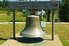 When the station fog bell tower was demolished, the bell was relocated and put on display in the Cutler Town Circle.