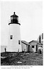 Old postcard view of the Pemaquid Point Lighthouse