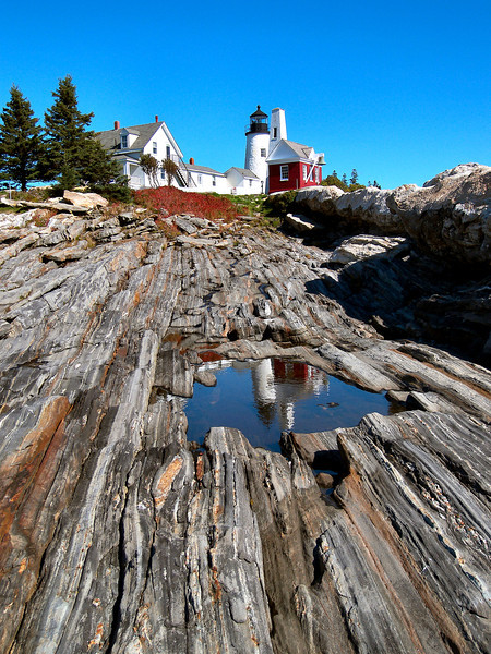 Isaac Dunham of Bath, Maine was appointed the first Keeper at Pemaquid Point.  Dunham was a veteran who had served on a privateer during the War of 1812.