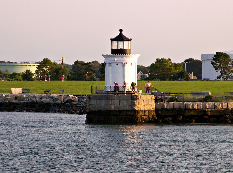 The little light languished until the South Portland Rotary Club and the Spring Point Ledge Light Trust worked on its restoration. In 2002 a new 250mm light was installed in the lantern and the lighthouse was reactivated. The Portland Breakwater Light now serves as the centerpiece of Bug Light Park for those who wish to visit the lighthouse and watch the ships passing through Portland Harbor.