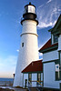 On January 7, 1791 Washington appointed Joseph Greenleaf to be the Keeper of Portland Head Light.  On January 10 the new lighthouse was dedicated in a ceremony by the Marquis de Lafayette.  That evening the 16 oil lamps in the lantern were lit for the first time.