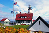 On August 7, 1989 in a ceremony marking the 200th anniversary of the Lighthouse Service Portland Head Light was automated and the keepers were removed.  The Town of Cape Elizabeth received a lease for the lighthouse property in 1990 and opened the museum in the Keepers dwelling.  In 1993 the town received the deed to the property.  In 2005 a renovation of the tower and the buildings was completed.  The site is one of Maine's biggest attractions with thousands of visitors each year.  Located within Fort Williams the grounds provide beautiful scenery and room for outdoor activities – you should visit sometime soon!