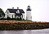 After only 9 years of service the Light House Board decided that the maritime traffic near Prospect Harbor did not warrant a lighthouse.  The station was shuttered and closed down in 1859.