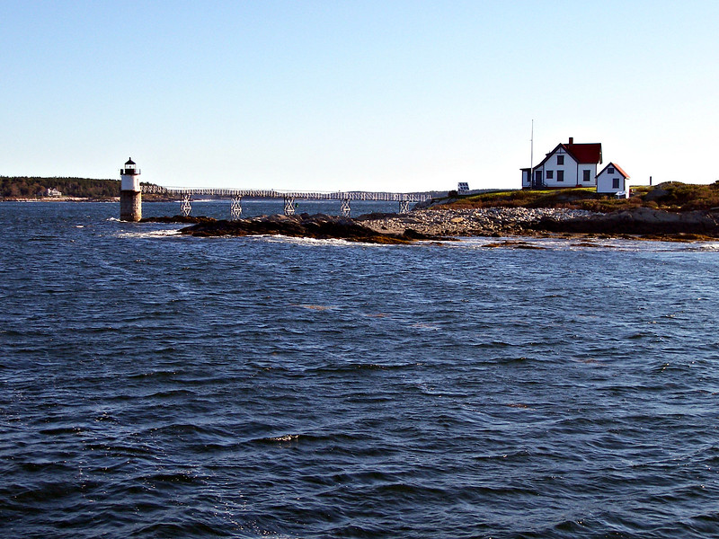 Over the years stories of apparitions, lights and horns saving ships from certain doom on the rocks of Ram Island abounded.  One story told of a captain hearing a foghorn in a blizzard, another captain swore he saw a burning ship causing him to steer clear of the rocks.