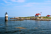 In March 1837 Congress appropriated $5,000 to place a lighthouse on Ram Island to mark the entrance into Boothbay Harbor.  The island was purchased for $195.  However, authorities citing that several lighthouses were already maintained in the vicinity suspended the operation in order to review the need for another lighthouse.