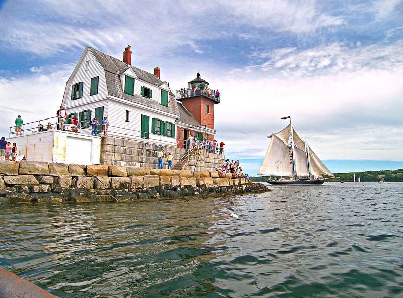 The lighthouse was decommissioned in 1965 and the keepers were removed.  Without constant maintenance, the light began to slowly deteriorate.
