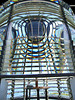 The First Order Fresnel lens can be seen up to 20 miles away. In 1998 the Coast Guard announced they were going to remove the lens and replace it with a plastic solar-powered optic. A petition drive garnered over 7,000 signatures asking for the lens to remain in the tower. In March 2000 the Coast Guard agreed and the lens is still in use today.