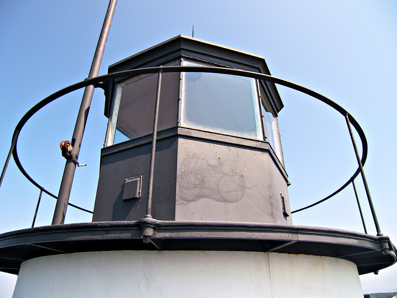 William A. Lane transferred from the Lighthouse Tender Myrtle to accept the Head Keeper position.  On May 24, 1897 Lane lit the lamp of the Spring Point Ledge Light for the first time.