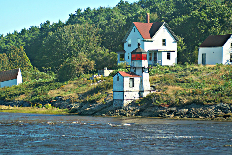 The Coast Guard finally awarded the lease to the Citizens for Squirrel Point group (www.squirrelpoint.org).  This group is now working on fundraising monies and stabilizing the buildings.