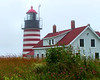 As maritime traffic increased in the Quoddy Narrows between the U.S. and Canada in the early 1800's, people petitioned for a lighthouse in the area.  Congress responded by allocating $5,000 in April 1806 for the project.