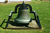 West Quoddy Head is the location of one of the first fog bells used in the U.S.  In 1820 a 500 pound fog bell was added to the station at a cost of $1,000 to replace a cannon that was used to answer ships in foggy conditions.  This was later replaced by a smaller bell with a higher pitch, and then another large 1,500 pound bell.  A 4th attempt to improve the signal used a triangular steel bar.