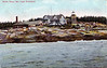 An old postcard view of Whitehead Island Lighthouse