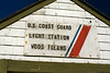 This is the sign which greets you at the landing on the western side of the island. Wood Island is 35 acres in size and lies just off of Biddeford Pool.