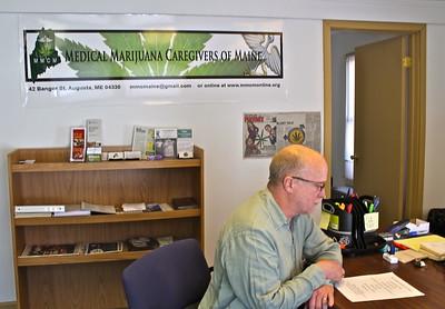 15.02.18 Medical Marijuana Caregivers of Maine office in Augusta