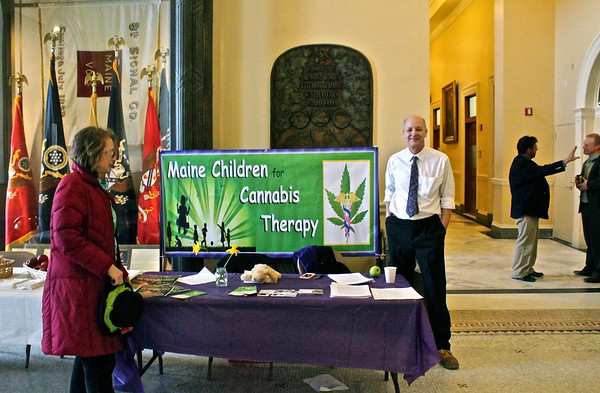 15.03.17 Maine Children for Cannabis Therapy at State House
