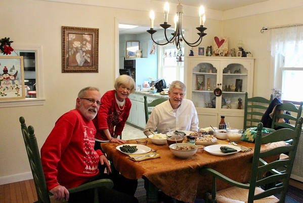 19.12.25 Christmas with Mark, Jimmie and Vickie