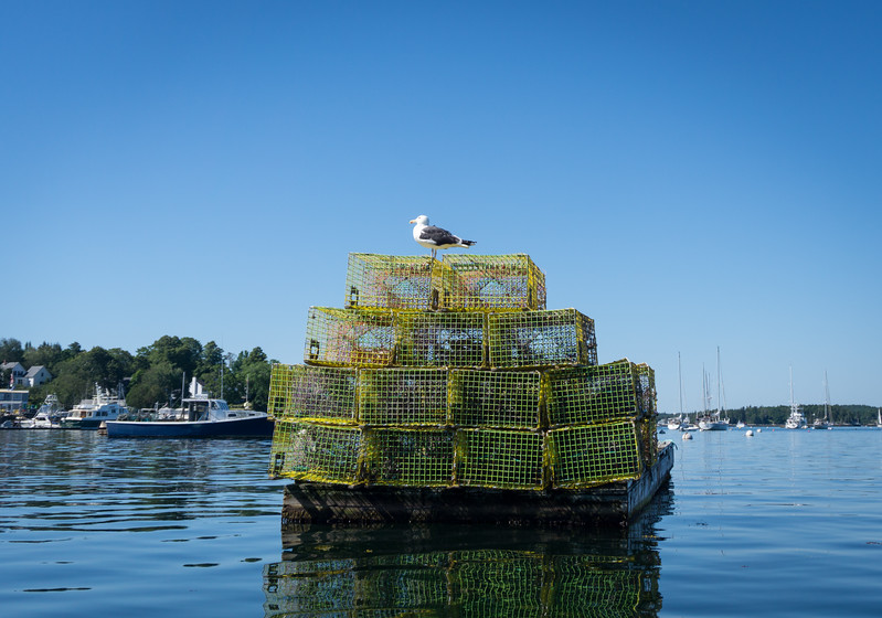 Boothbay Harbor, Maine, July 26, 2017