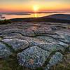 Sunrise from Cadillac Mountain, Acadia National Park, Maine, August 16, 2015, 5:52 am