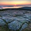 Sunrise from Cadillac Mountain, Acadia National Park, August 16, 2015, 5:43 am