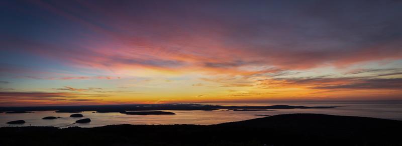 Cadillac Mountain, Acadia National Park, 5:04 am, August 4, 2020