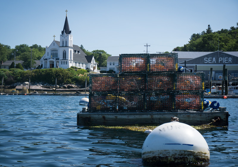 Boothbay Harbor,  Maine, August 8, 2016