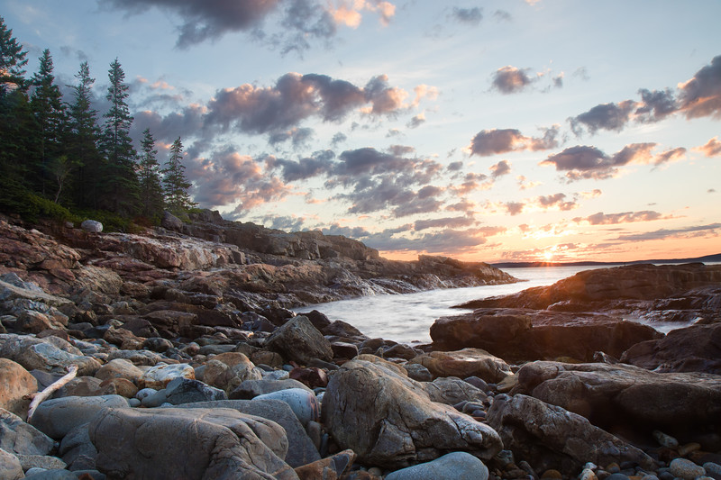 Acadia National Park, Great Head Trail, July 29, 2017, 5:23 am
