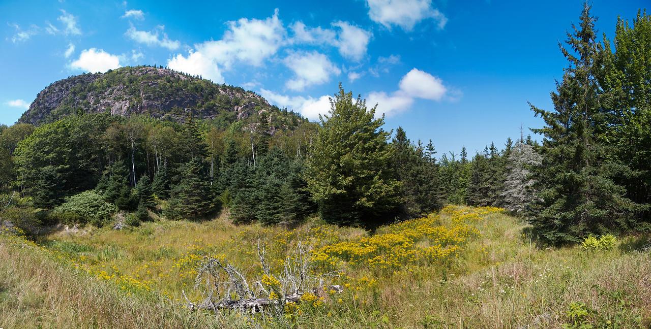 Beehive Mountain Panorama, Acadia National Park