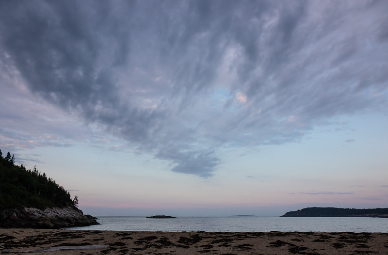 Sand Beach, Acadia National Park, August 13, 2019, 5:48 am