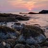 Sunrise at Boulder Beach, Acadia National Park, Maine, August 17, 2015, 5:44 am