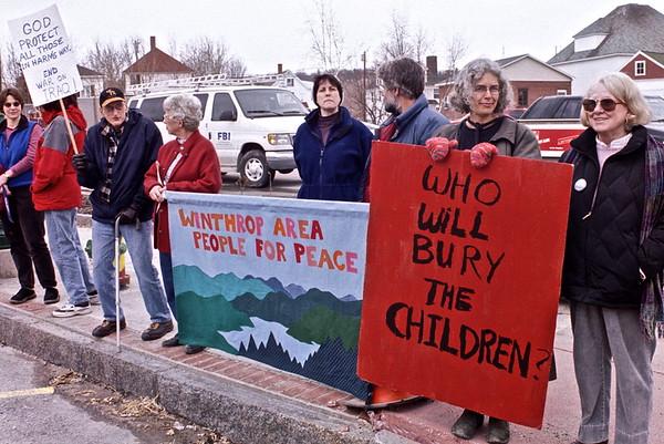 03.03.22&29 Winthrop Area People for Peace Vigil