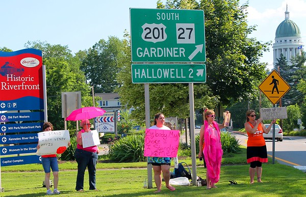 13.07.15 Women's Reproductive Rights Demonstration in Augusta