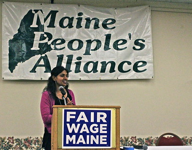 15.05.16 Maine People's Alliance Minimum Wage Summit at the Augusta Civic Center