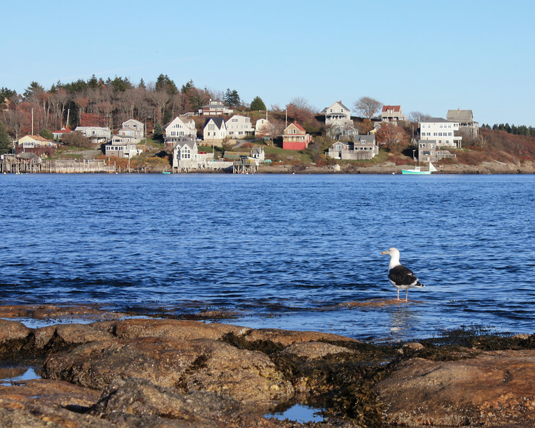 View from Fort Popham, Popham, Maine