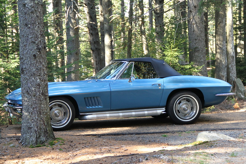Little Blue Corvette