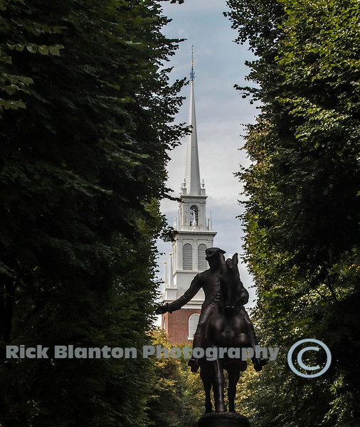 """"""" Paul Revere and the Old North Church """""""