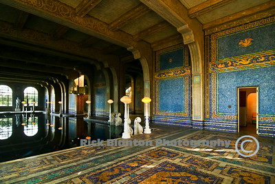 """ Indoor Pool at Hearst Castle """