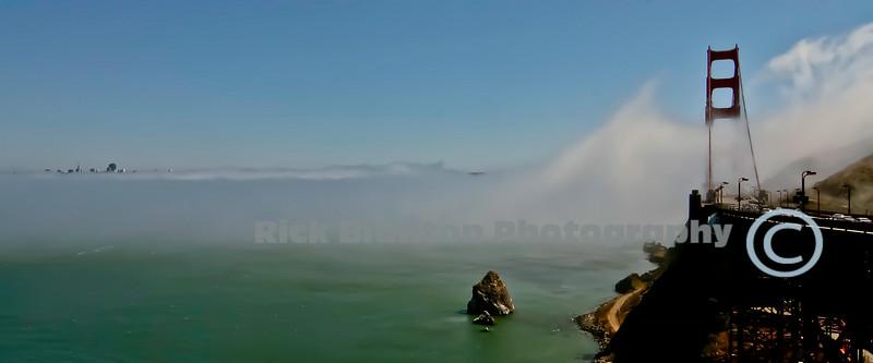 """"""" Fog Over the Golden Gate """""""