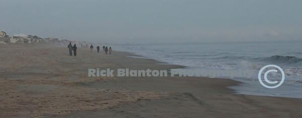 Cold and Foggy Afternoon on Emerald Isle