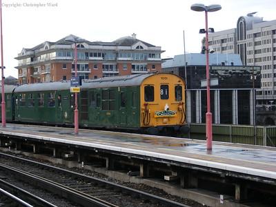 The Hastings Unit draws in having run semi-fast from Hastings