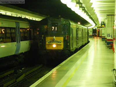 1001 arrives with the return leg of the tour at Cannon Street