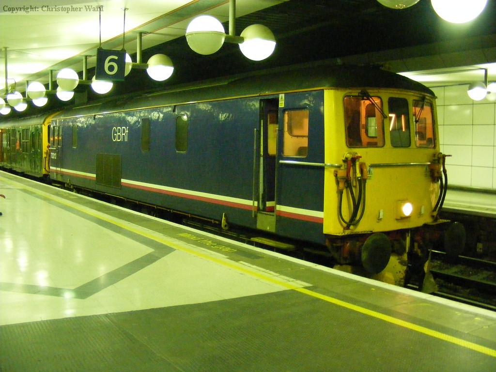 73213 prepares to head south