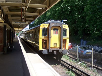1497 on arrival at Brockenhurst