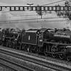 Black 5s 44871 & 45407 'Lancashire Fusileer' storm Rugeley Trent Valley