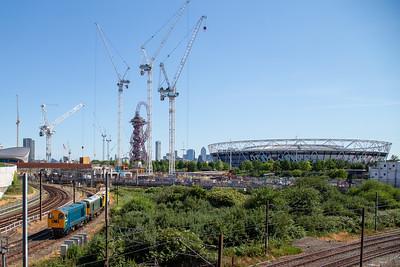 Stratford and Docklands skyline