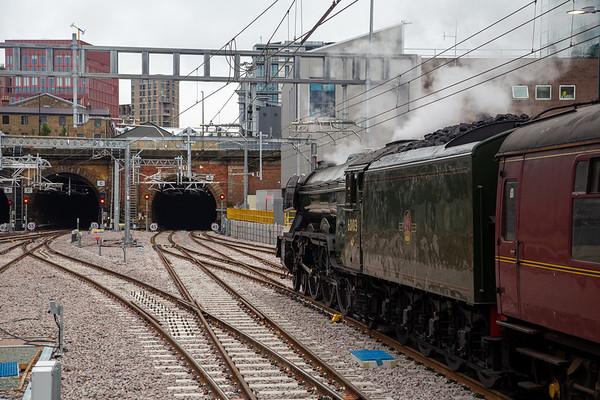 Steam in London
