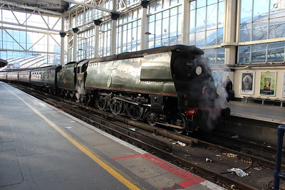 A Bulleid at Waterloo